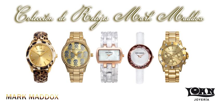 Tu Regalos para estas Navidades: Relojes Mark Maddox