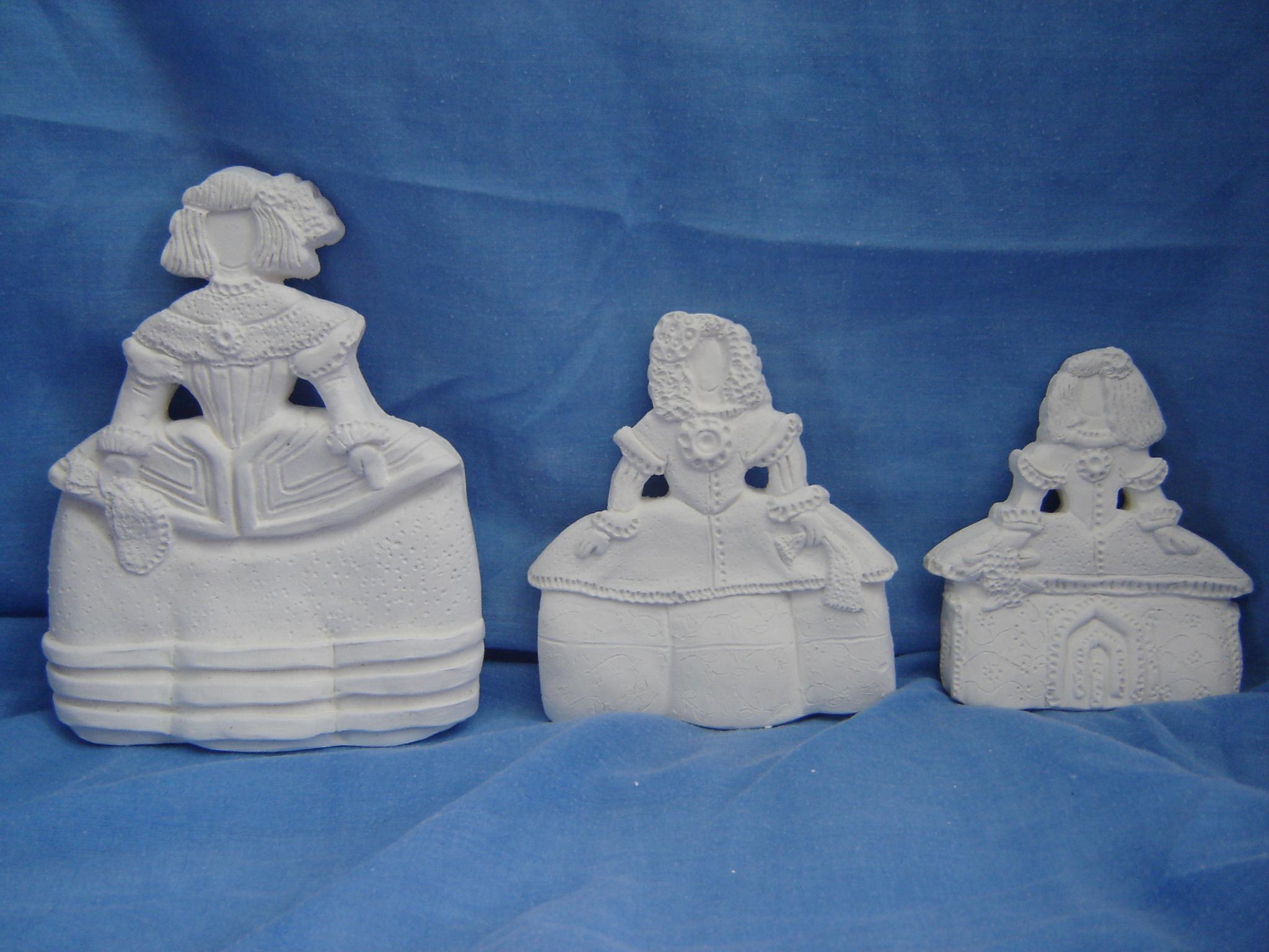 figuras de escayola