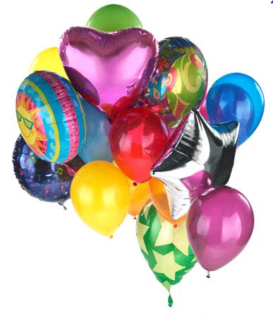 Lo que quieras decir dilo con globos de helio